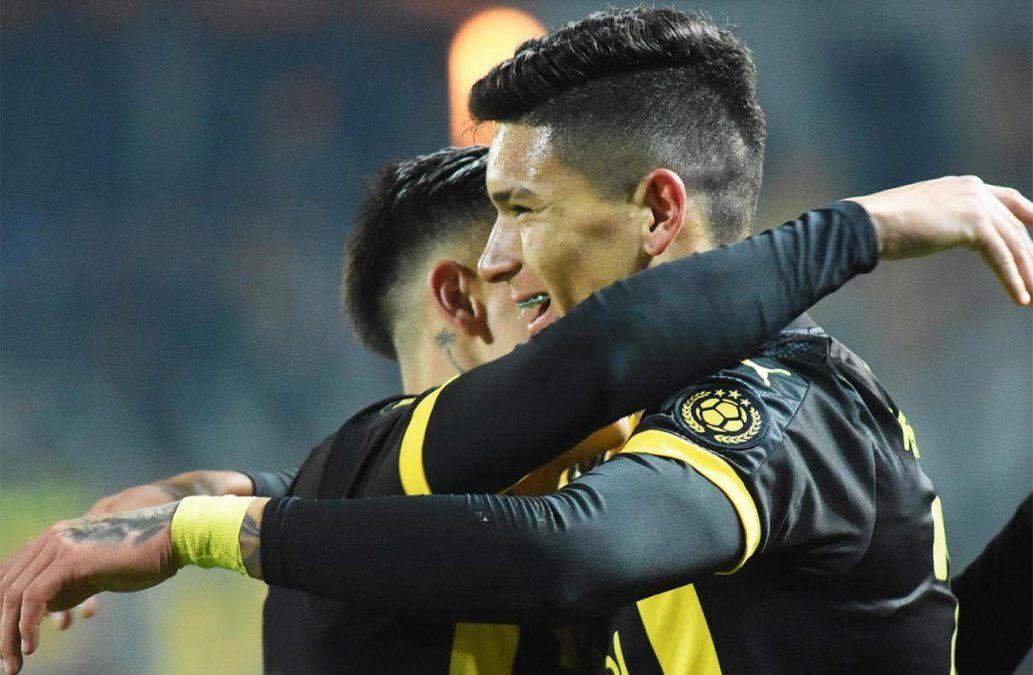 Peñarol le ganó 4-0 a Boston River con un hat trick de Darwin Núñez