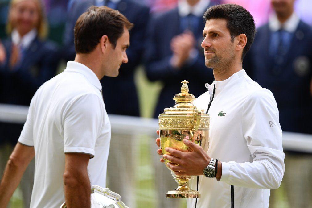 Djokovic ganó su quinto Wimbledon en una final épica contra Federer