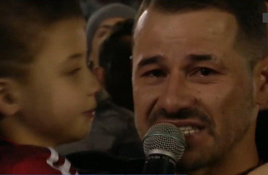 Así fue la monumental y emotiva despedida de Rodrigo Mora en River Plate