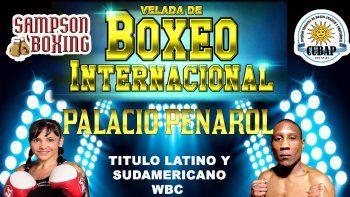 Velada de Boxeo Internacional en el Palacio Peñarol