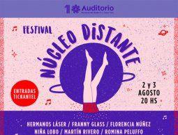 Festival Núcleo Distante en la Sala Hugo Balzo