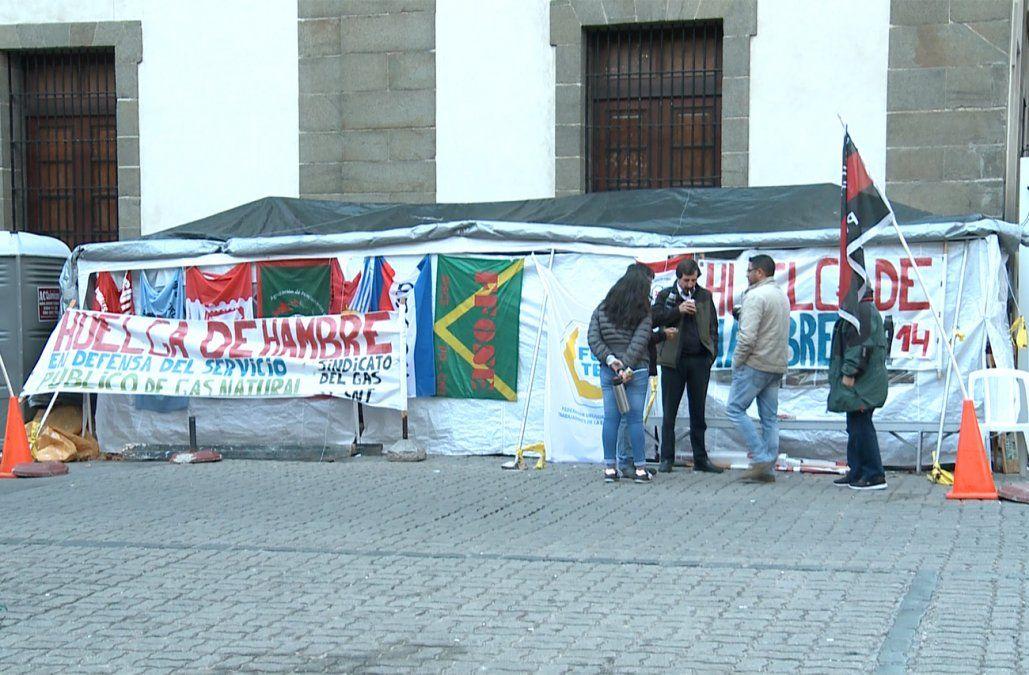 El sindicato del gas levantó la huelga — Conflicto
