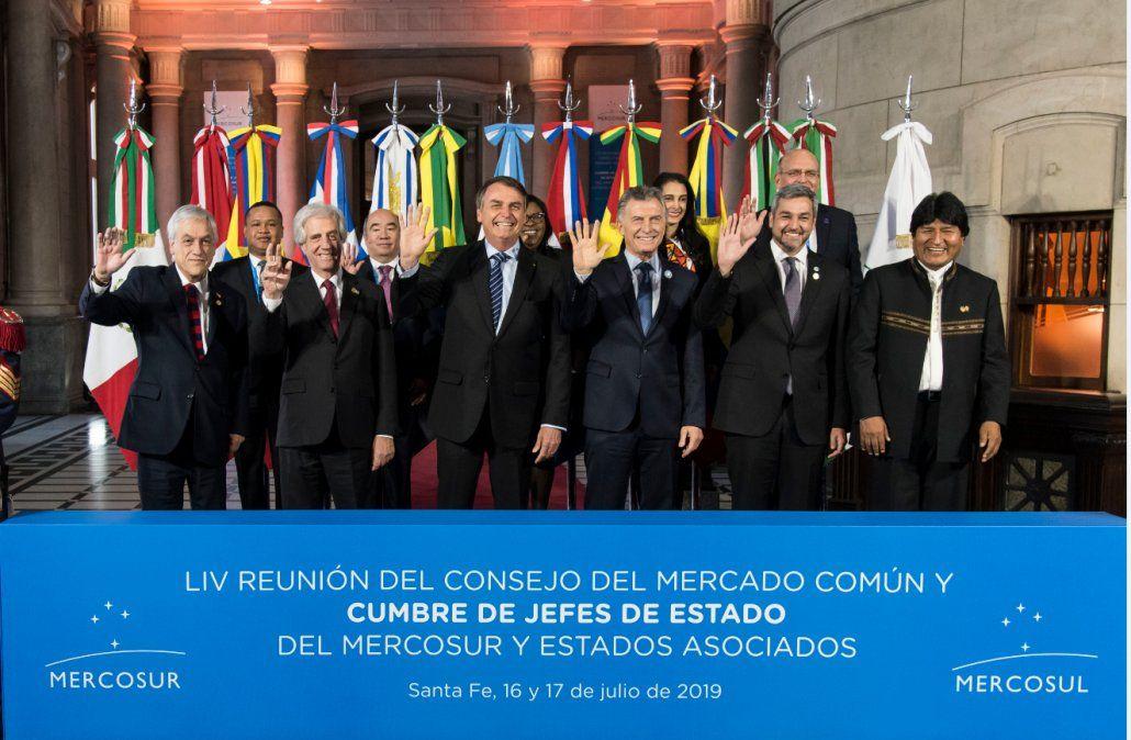 Presidentes del Mercosur piden elecciones presidenciales libres en Venezuela