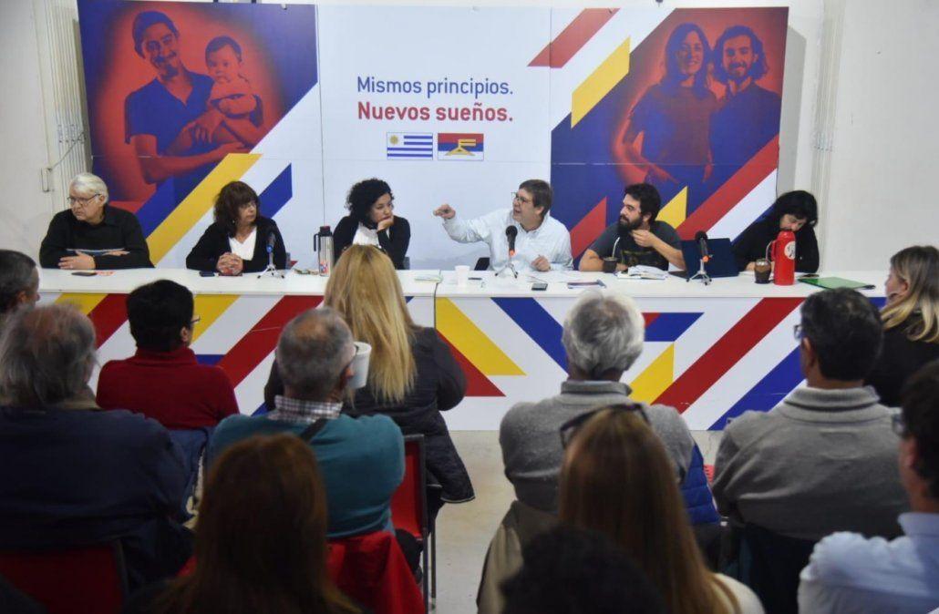Foto: oficial Frente Amplio.