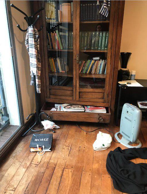 Ladrones entraron a la embajada de Paraguay y robaron computadoras y cuadros originales