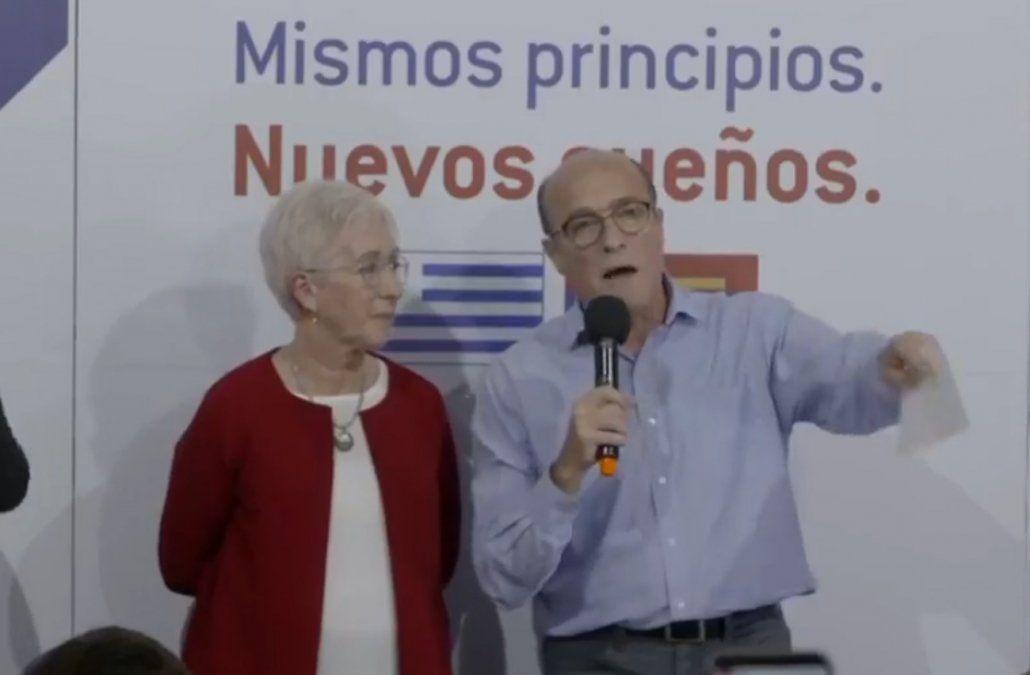 Villar apuntó al brutal proyecto neoliberal que empieza con Lacalle y su frontera es Manini