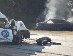 Jerarca de la Intendencia de San José murió tras choque frontal en ruta 1