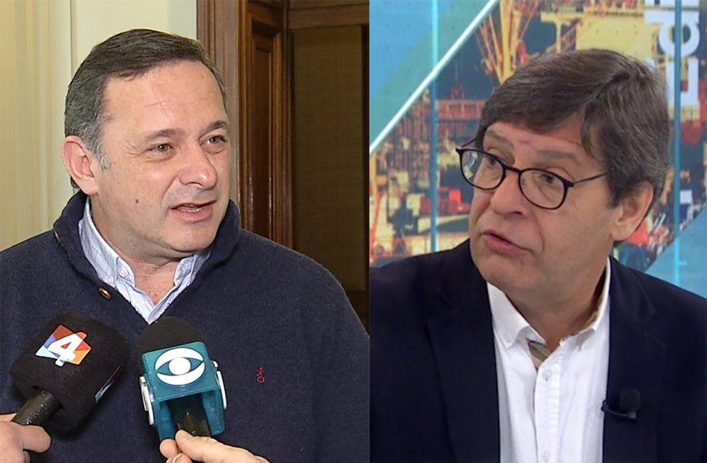 Blancos cuestionan discurso radical de Villar y el FA los compara con Macri