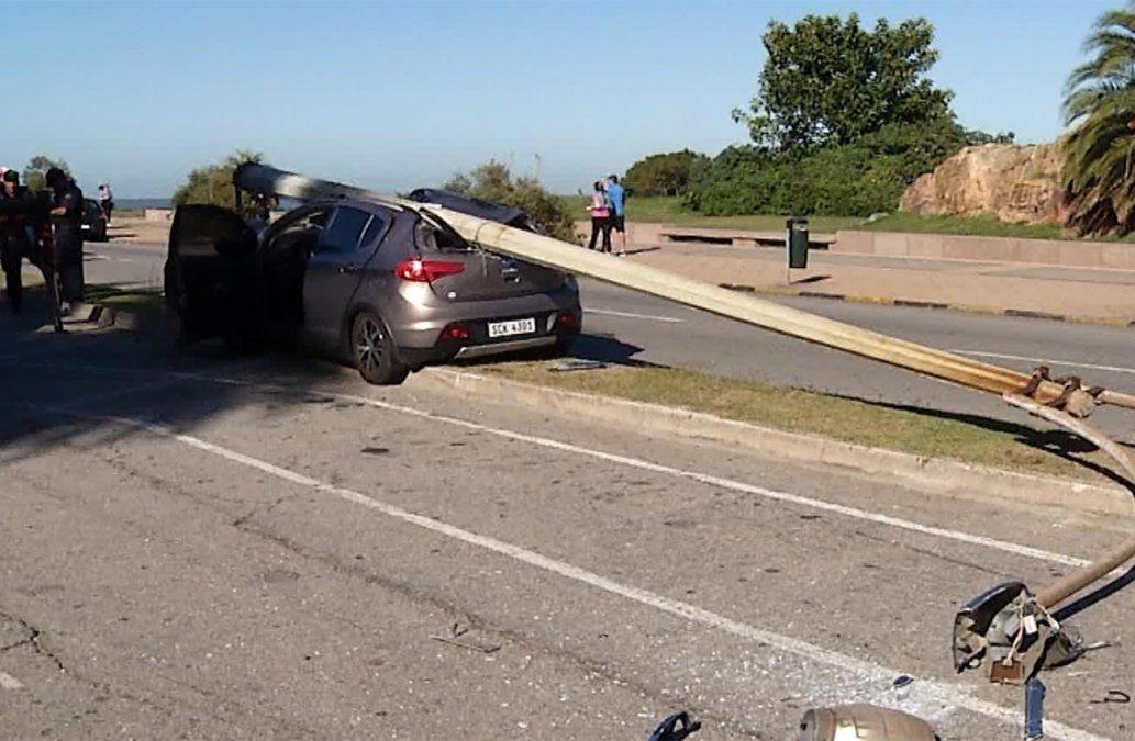 Intendencia registró un descenso del 22% de lesionados por accidentes de tránsito