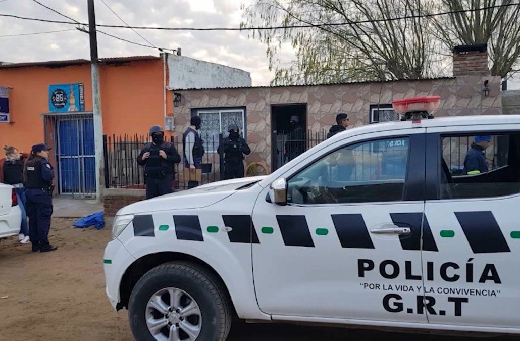 Cuatro hombres y dos mujeres fueron imputados tras operativo antidrogas en Santa Lucía