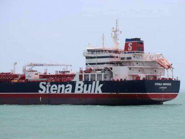Irán confiscó un petrolero británico en el Golfo