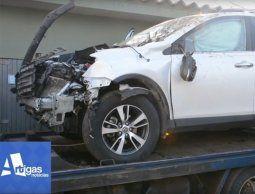 Intendente de Artigas sufrió un accidente de tránsito cuando viajaba por ruta 30