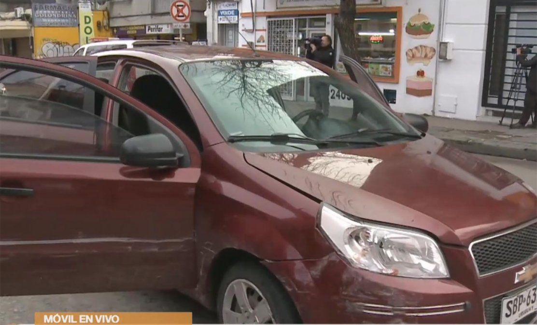 Persecución policial con detenidos y cinco vehículos chocados en el Cordón
