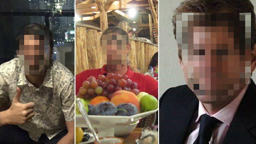 Fotografías de los presuntos espías de la CIA arrestados en Irán