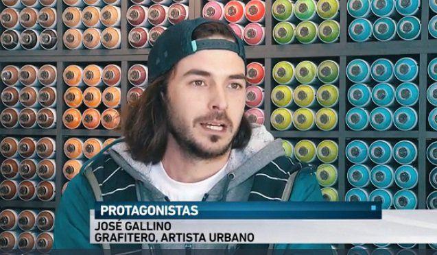 José, artista urbano