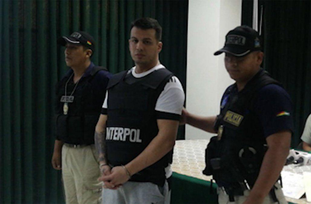 Cayó en Bolivia peligroso narco uruguayo buscado hace dos años