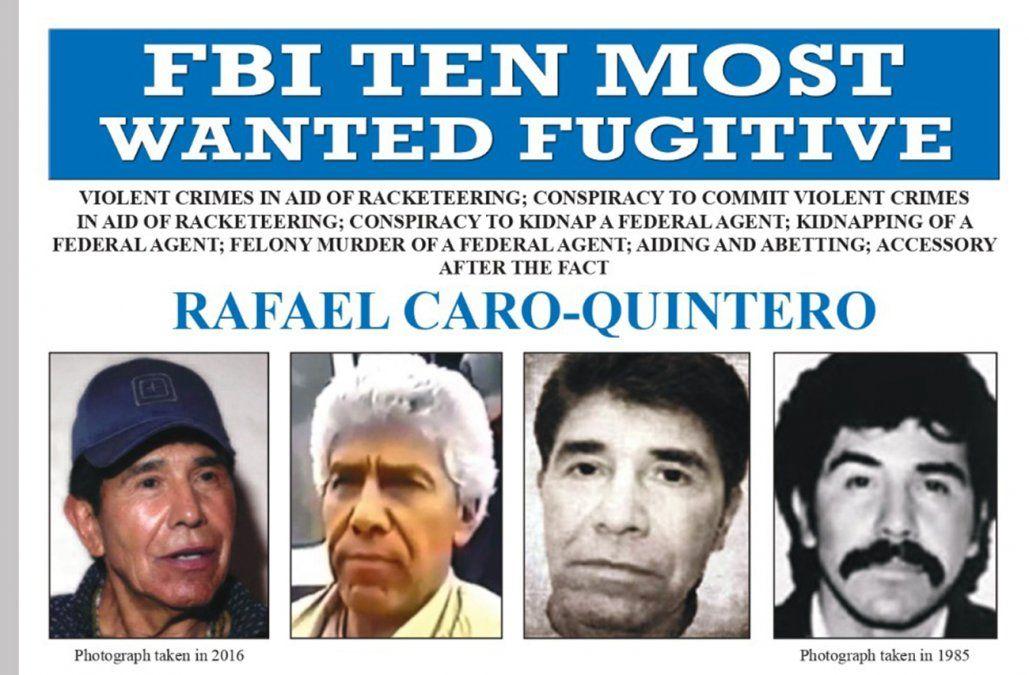 El hombre que capturó al Chapo Guzmán ya tiene otro objetivo: Rafael Caro Quintero