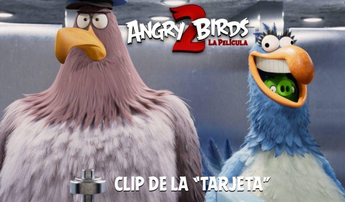 Te anticipamos una divertida escena de Angry Bird 2