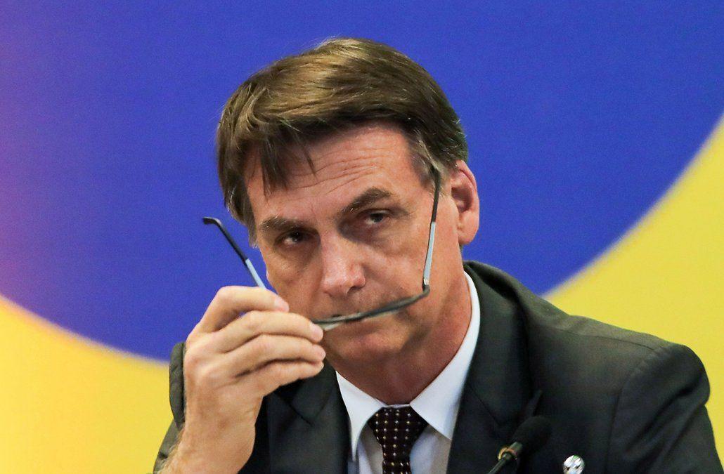 Bolsonaro afirma que periodista Glenn Greenwald podría ir preso en Brasil