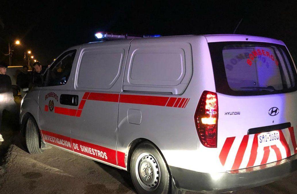 Un hombre murió por intoxicación en un principio de incendio