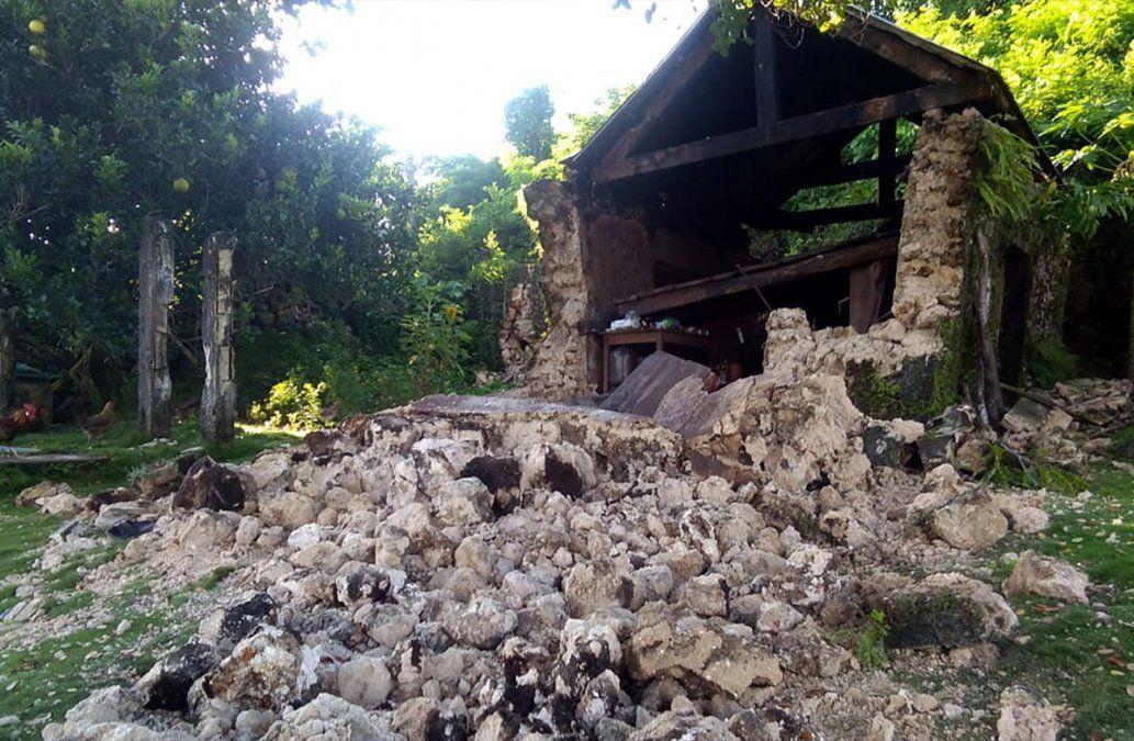 Dos temblores de tierra dejan ocho muertos y decenas de heridos en Filipinas