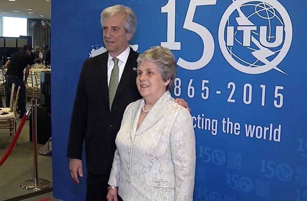 Murió María Auxiliadora Delgado, esposa y mentora espiitual del presidente Tabaré Vázquez