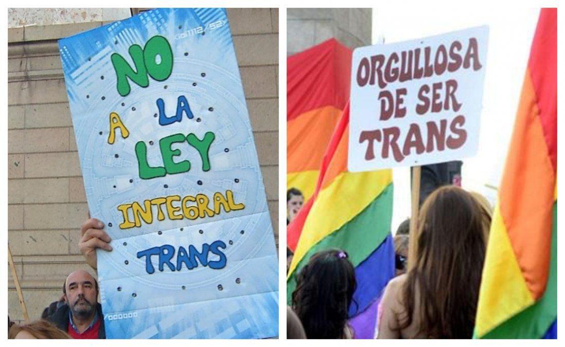 Ni fútbol ni espectáculos públicos, ni alcohol, por el pre-referéndum de la Ley Trans
