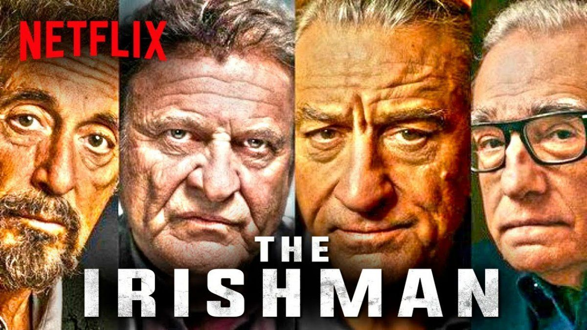 Se presenta un adelanto de The Irishman, el film que une a De Niro y Pacino