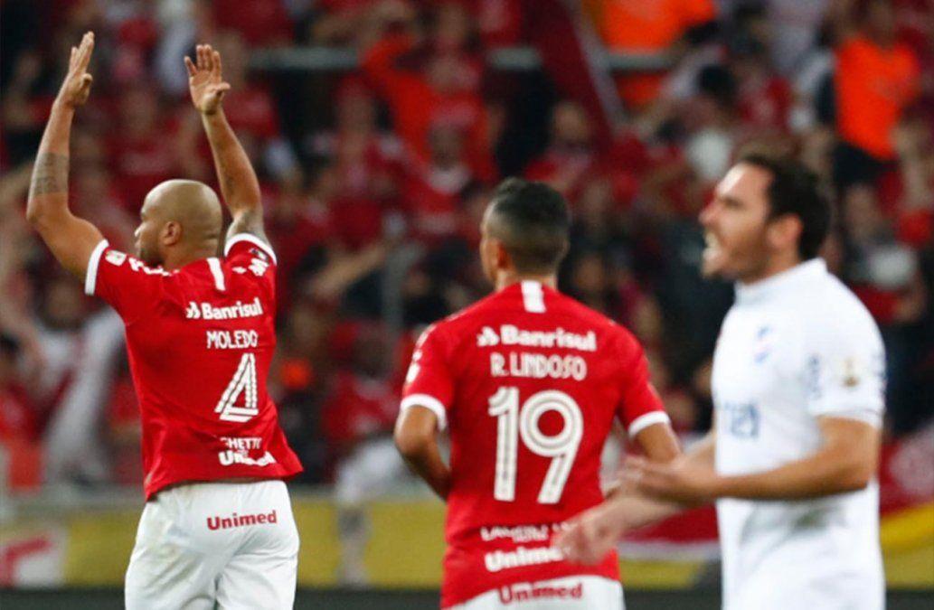 Nacional quedó afuera de la Copa Libertadores tras perder 2-0 frente a Inter