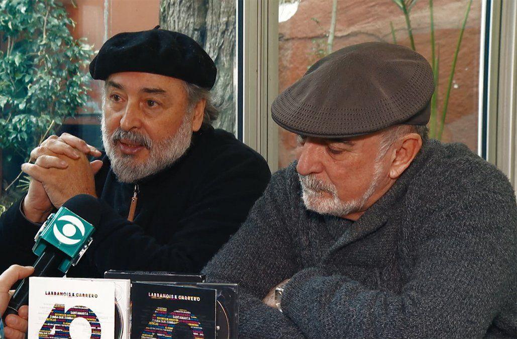 Larbanois & Carrero celebran este viernes y sábado sus 40 años de música