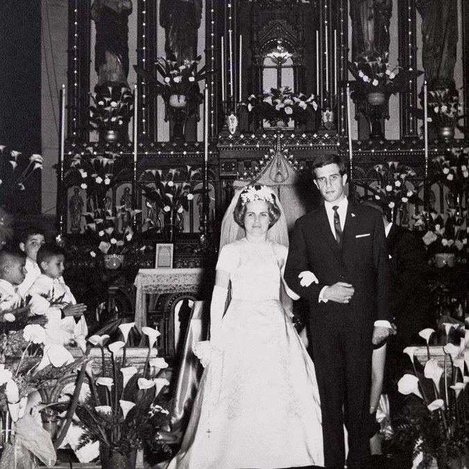 María Auxiliadora Delgado y Tabaré Vázquez se casaron en 1964