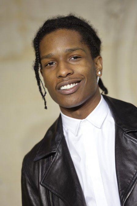 A$AP Rocky retratado por la marca Dior