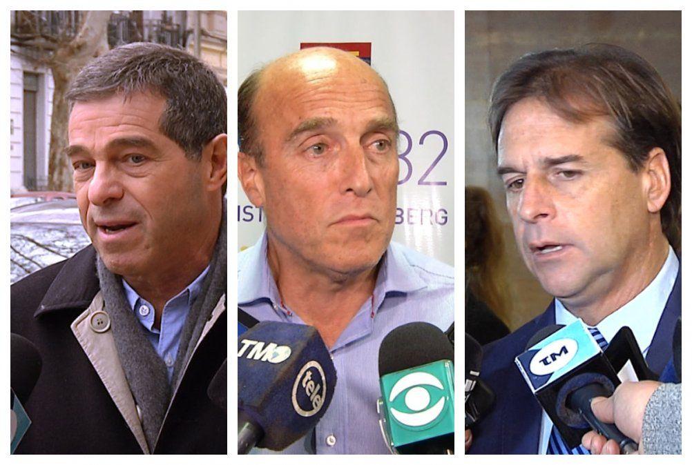 Por carta, Martinez invitó a Talvi y a Lacalle Pou a abrir  diálogo