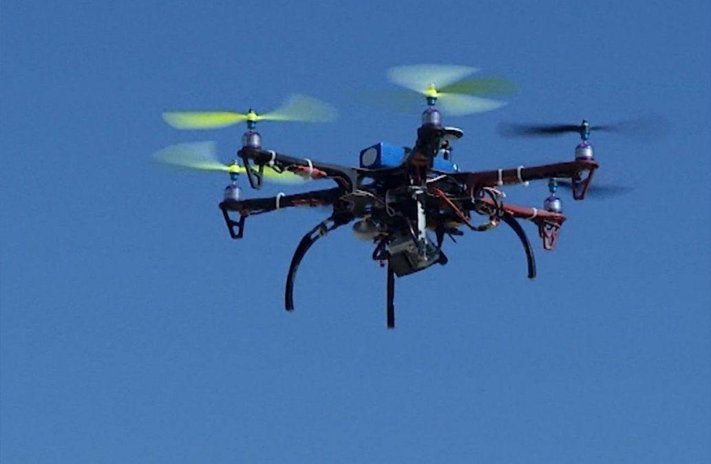 El gobierno anunció que utilizará drones en la frontera para combatir el narcotráfico