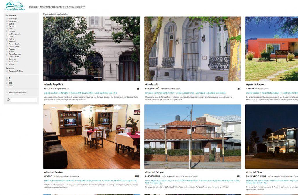 Lanzaron el primer portal con información sobre residenciales para adultos mayores