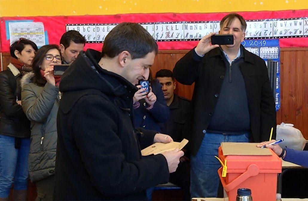El diputado suplente blanco Carlos Iafigliola