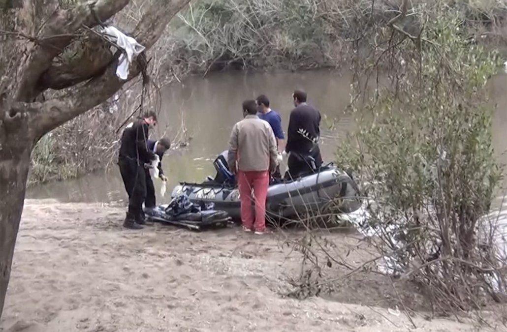 Joven se ahogó en el Río San Salvador luego que se hundiera la canoa en la que navegaba
