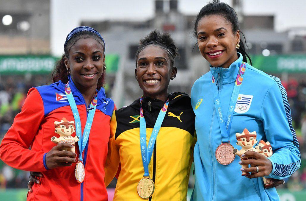 Deborah Rodríguez conquistó el bronce en los 800 metros femeninos