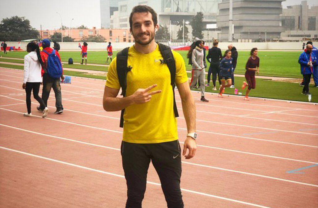 Emiliano Lasa saltó 7,87 metros y fue bronce en los Panamericanos