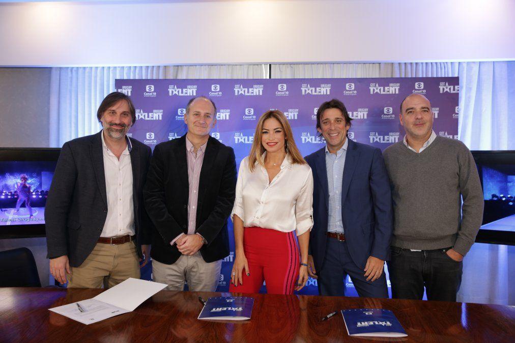 María Noel Riccetto, Claudia Fernández y Orlando Petinatti estarán en el jurado de Got Talent Uruguay