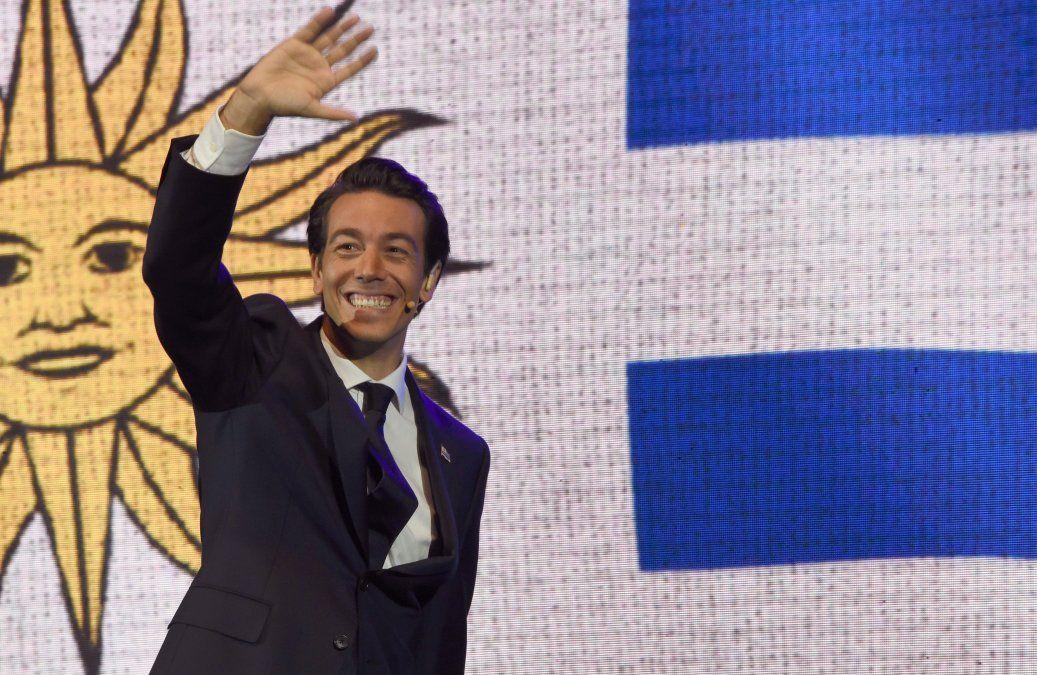 Juan Sartori en su campaña por las elecciones internas 2019