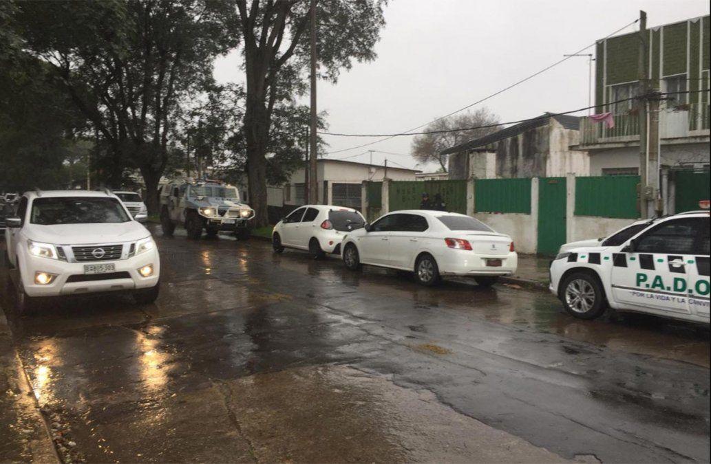 Allanamientos en Maroñas: al menos tres personas fueron detenidas