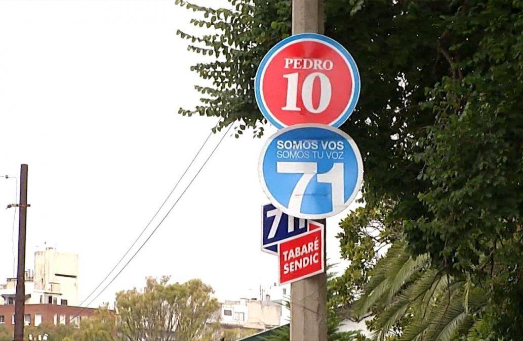 Intendencia de Montevideo aplicó mil multas por cartelería política en la ciudad