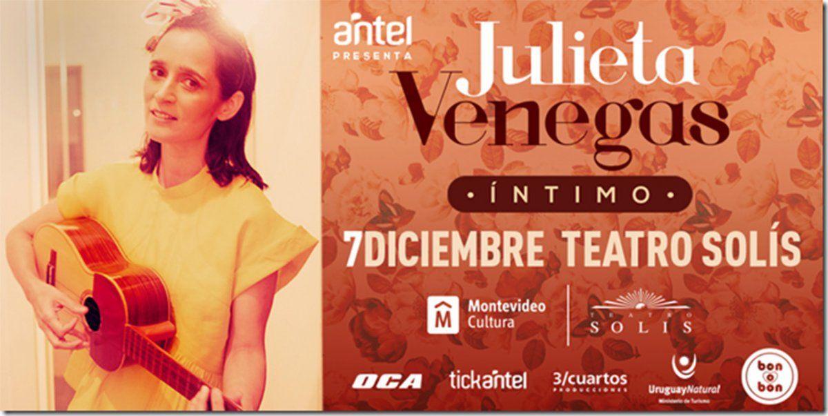 Julieta Venegas presenta su show Íntimo en Montevideo
