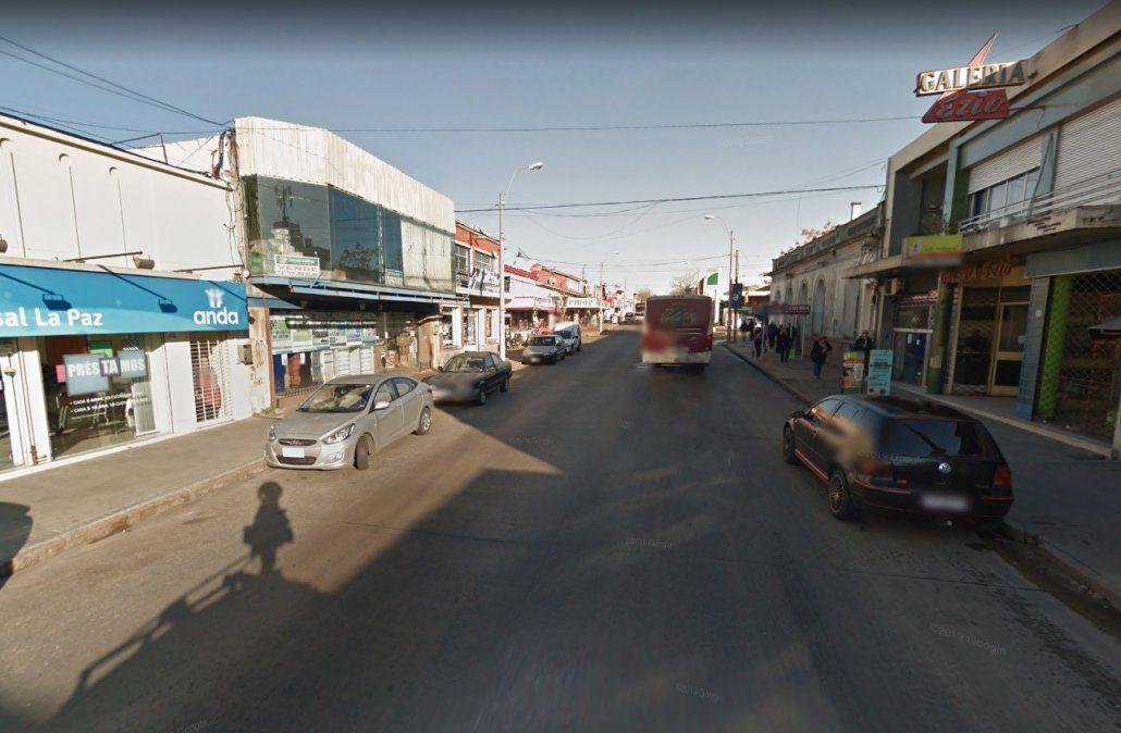 Hombre detenido tras robar una juguetería en La Paz