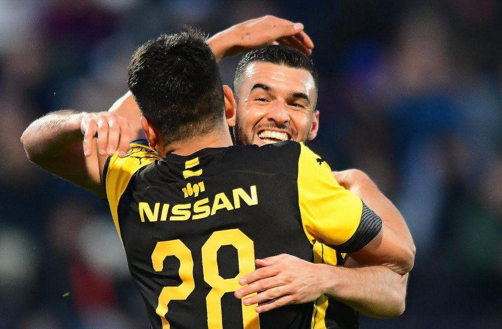Peñarol empató 2-2 con Defensor en el Franzini pero lidera la Tabla Anual