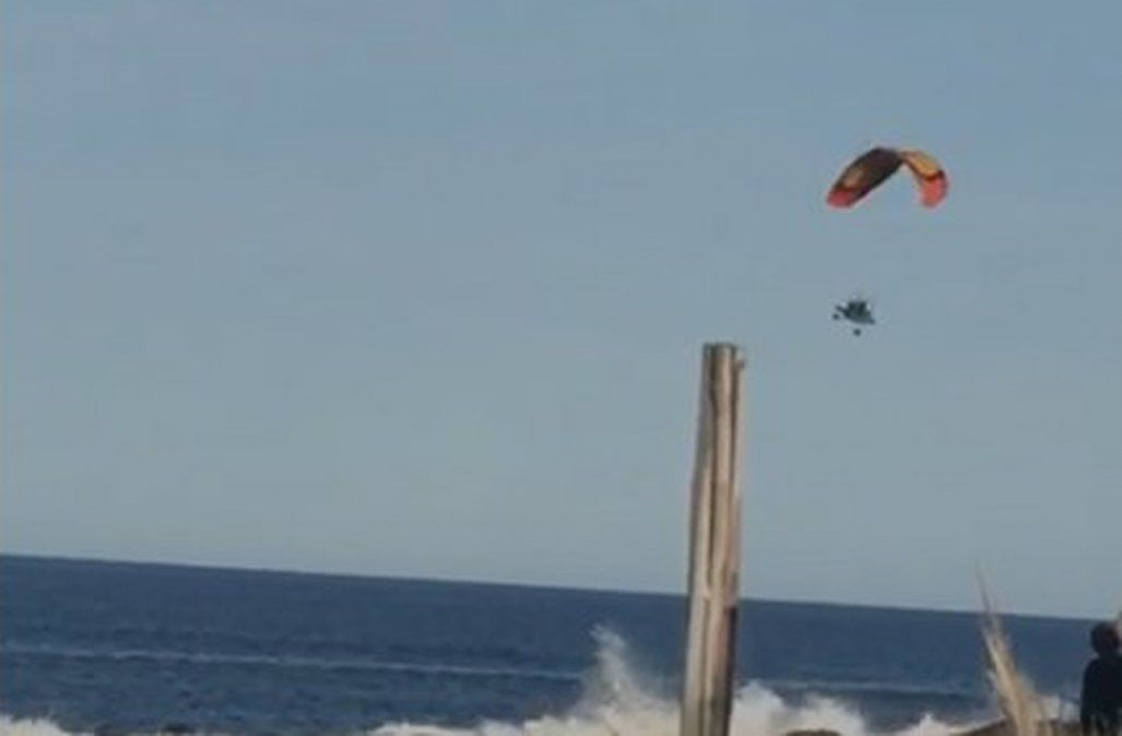 Uruguay: hallaron el cadáver de un parapentista argentino que cayó al mar
