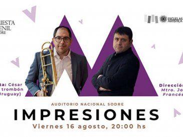 La Orquesta Juvenil del Sodre presenta su cuarto concierto de temporada