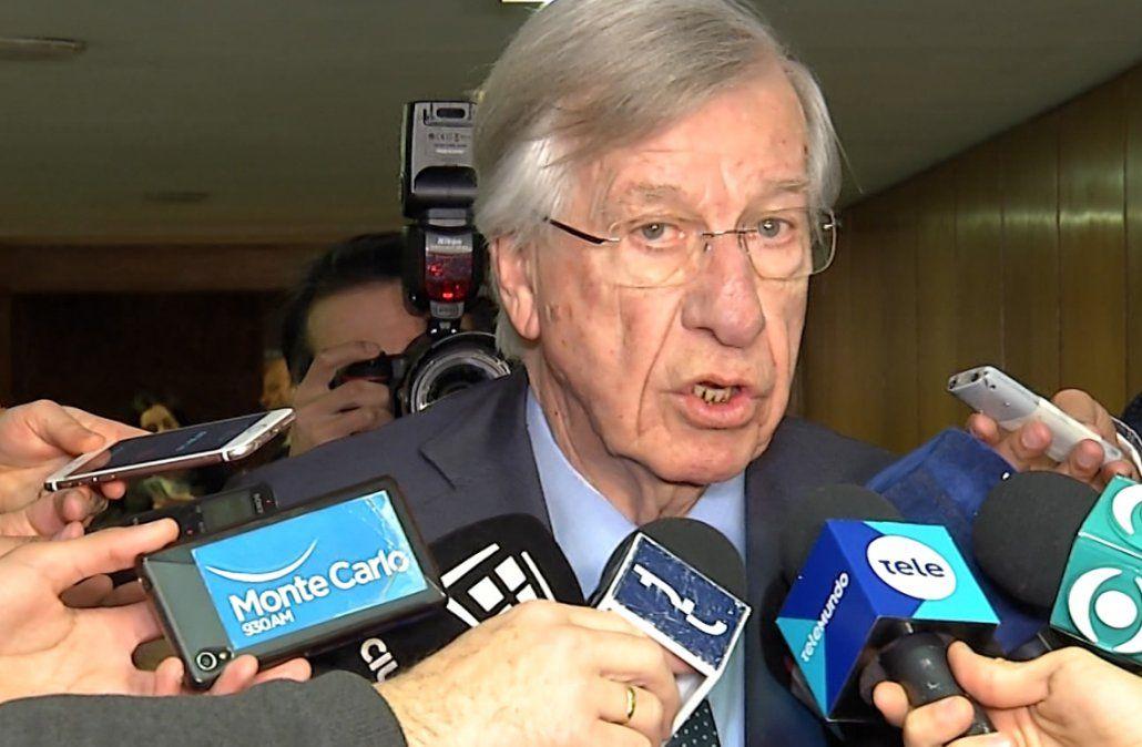Astori respondió al pedido de informes de Lacalle Pou con declaraciones en el portal de Presidencia