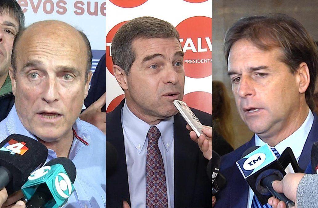 Martínez lidera encuesta de Radar; Talvi y Lacalle Pou en empate técnico